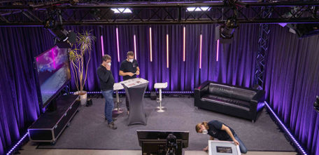 Unser eigenes Streaming-Studio